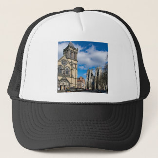 Saint Wilfrids and York Minster. Trucker Hat
