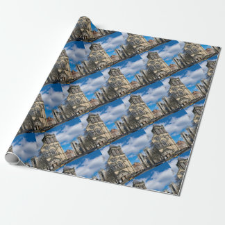 Saint Wilfrids and York Minster. Wrapping Paper