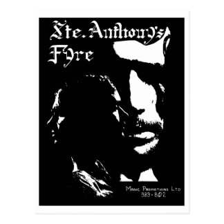 Sainte Anthony's Fyre Band - 1970 Postcard
