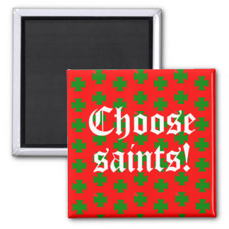 Saints_Aplenty Slogan (Christmas Edition #2) Magnet