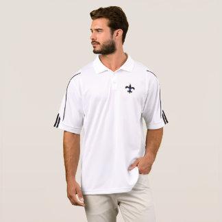 Saints Law Enforcement Thin Blue Line Adidas Golf Polo Shirt