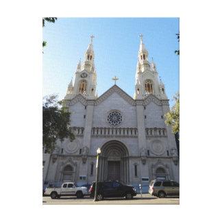 Saints Peter & Paul Church Canvas