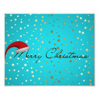 Saison de Joyeux Noël Impression Photographique