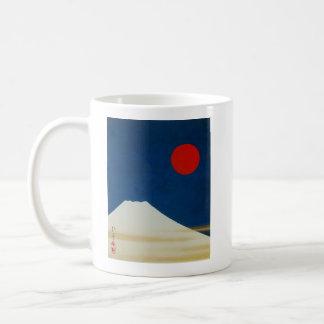 Sakai 抱 one 'Mt. Fuji figure', Sakai Hōitsu Coffee Mug