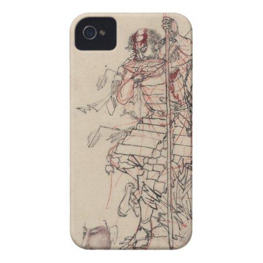 Sake o Nomu (The Wounded Warrior) iPhone 4 Case-Mate Case