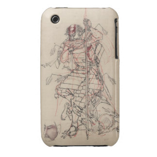 Sake o Nomu (The Wounded Warrior) Case-Mate iPhone 3 Case