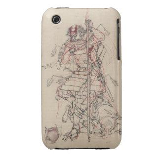 Sake o Nomu (The Wounded Warrior) Case-Mate iPhone 3 Case