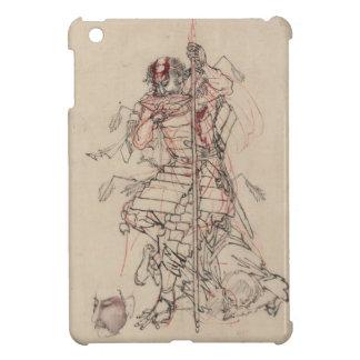 Sake o Nomu (The Wounded Warrior) iPad Mini Covers