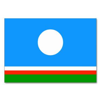 Sakha Republic Flag Card