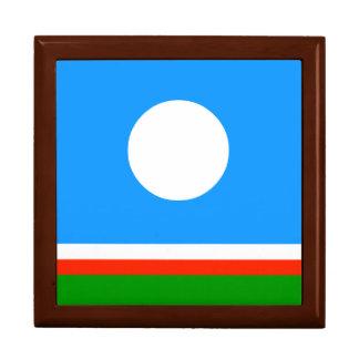 Sakha Republic Flag Keepsake Boxes