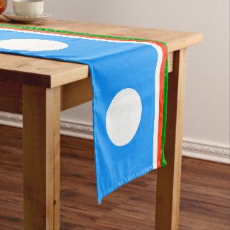 Sakha Republic Flag Long Table Runner