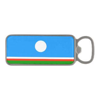 Sakha Republic Flag Magnetic Bottle Opener