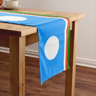 Sakha Republic Flag Medium Table Runner