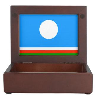 Sakha Republic Flag Memory Box