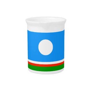 Sakha Republic Flag Pitchers