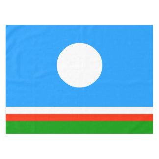 Sakha Republic Flag Tablecloth