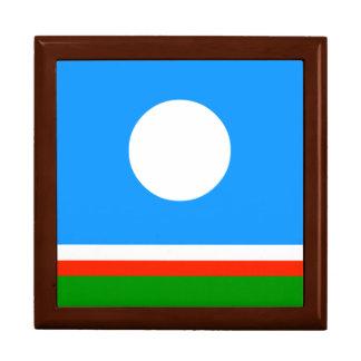 Sakha Republic Flag Trinket Box