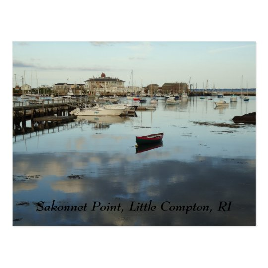 Sakonnet Point Postcard, Little Compton, RI Postcard