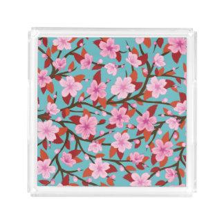 Sakura Acrylic Tray