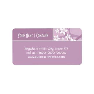 Sakura Address Label
