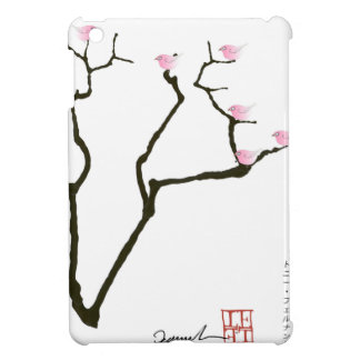sakura and 7 pink birds 1, tony fernandes iPad mini case