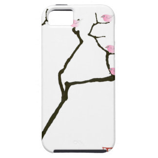 sakura and 7 pink birds 1, tony fernandes iPhone 5 covers