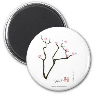 sakura and 7 pink birds 1, tony fernandes magnet