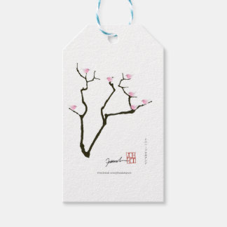 sakura and 7 pink birds 1, tony fernandes pack of gift tags