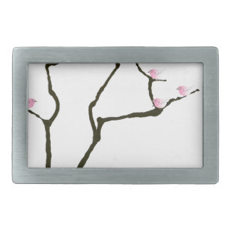 sakura and 7 pink birds 1, tony fernandes rectangular belt buckle