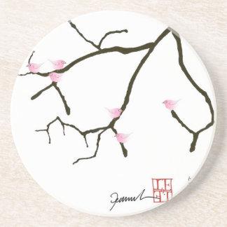 sakura and 7 pink birds 2, tony fernandes coaster
