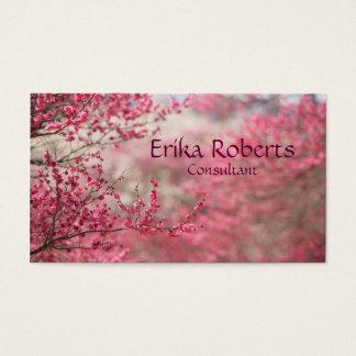 Sakura Blossom Business card Japanese