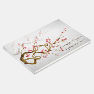 Sakura Blossoms Guest Book