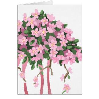 Sakura Bouquet Card