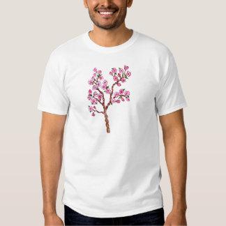 Sakura Branch Painting T Shirt