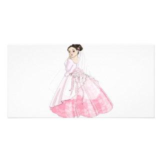 Sakura Bride Custom Photo Card