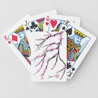 Sakura Cherry Blossom 20,Tony Fernandes Bicycle Playing Cards