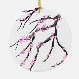 Sakura Cherry Blossom 20,Tony Fernandes Ceramic Ornament