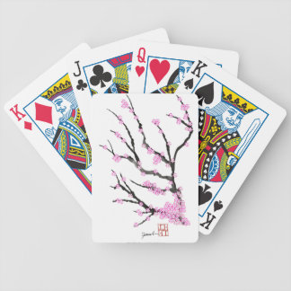 Sakura Cherry Blossom 21,Tony Fernandes Bicycle Playing Cards