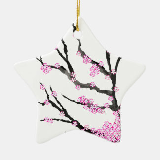Sakura Cherry Blossom 21,Tony Fernandes Ceramic Star Ornament
