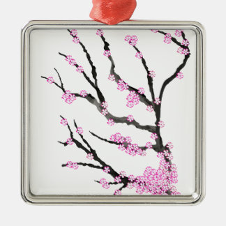 Sakura Cherry Blossom 21,Tony Fernandes Metal Ornament