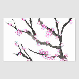 Sakura Cherry Blossom 21,Tony Fernandes Sticker