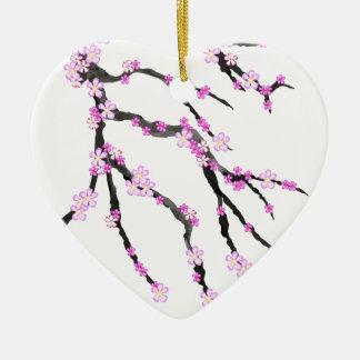 Sakura Cherry Blossom 22,Tony Fernandes Ceramic Ornament