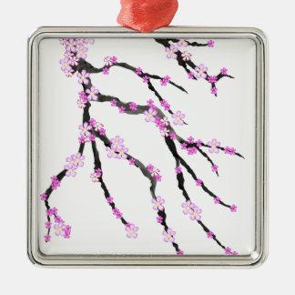 Sakura Cherry Blossom 22,Tony Fernandes Metal Ornament