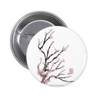 Sakura Cherry Blossom 23, Tony Fernandes 2 Inch Round Button