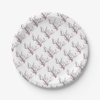 Sakura Cherry Blossom 23, Tony Fernandes 7 Inch Paper Plate