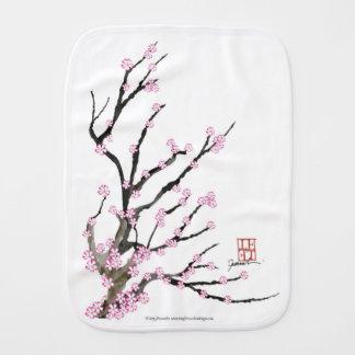 Sakura Cherry Blossom 23, Tony Fernandes Burp Cloth