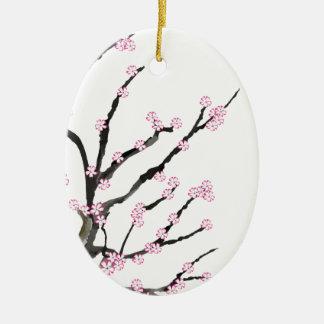 Sakura Cherry Blossom 23, Tony Fernandes Ceramic Ornament
