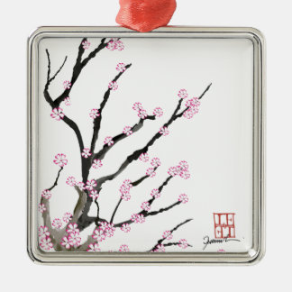 Sakura Cherry Blossom 23, Tony Fernandes Metal Ornament
