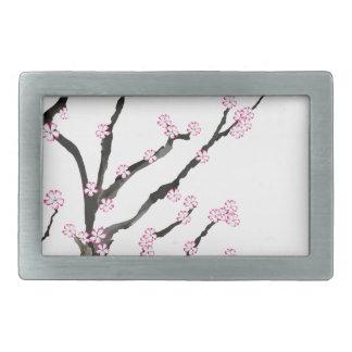 Sakura Cherry Blossom 23, Tony Fernandes Rectangular Belt Buckle