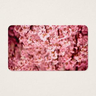 Sakura Cherry Blossom Business Card